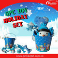 New Christams vinyl Pet Toys Wholesale Gift Set For DOg