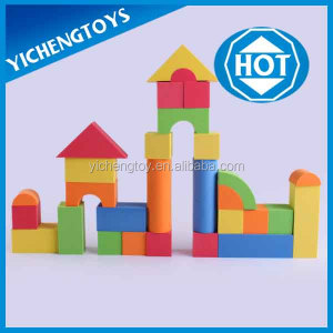 soft play toy bricks high-density eva foam building blocks