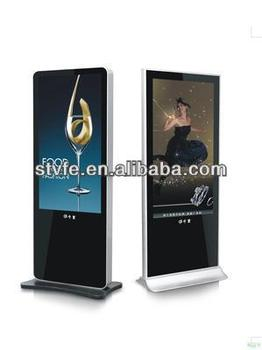 iphone outlook model floor standing advertising player for sale