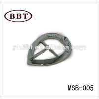 Factory Custom High Quality metal decorative shoe buckle