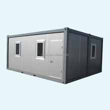 Modified portable container house
