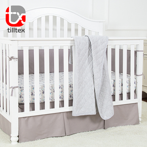 Exporting standard soft comfortable cotton baby blanket