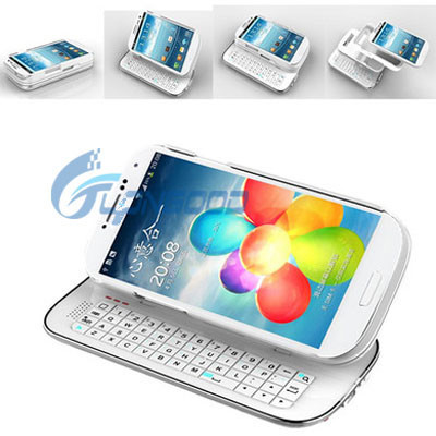 Slide mini bluetooth keyboard case for samsung galaxy s4 i9500