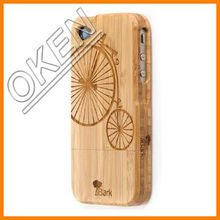 2014 New Type Eco-friendly Bamboo/wood case cellphone