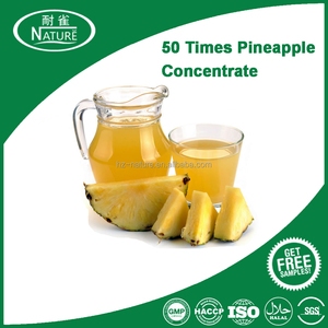 50 times-concentrated pineapple syrup pineapple high concentrated juice