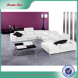Modern design hotel modern sectional pvc leather for sofa
