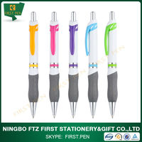 First YP155 New Model Jumbo Promotional Plastic Ball Pen With Gray Grip