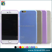 0.3mm ultra thin pp mobile phone case cover for apple iphone 6 plus