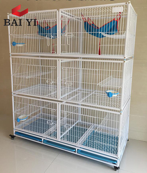 Ready Stock Two Layer Cat Cage For Sale Cheap