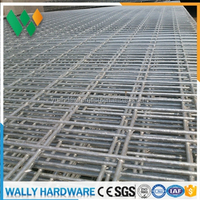 China cheap anping factory low price 2x 2 / 25mm x 25mm high quality Galvanized Welded wire mesh fencing panel
