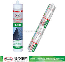 Liquid glue 300g silver silicone sealant cartridge 310ml on sale