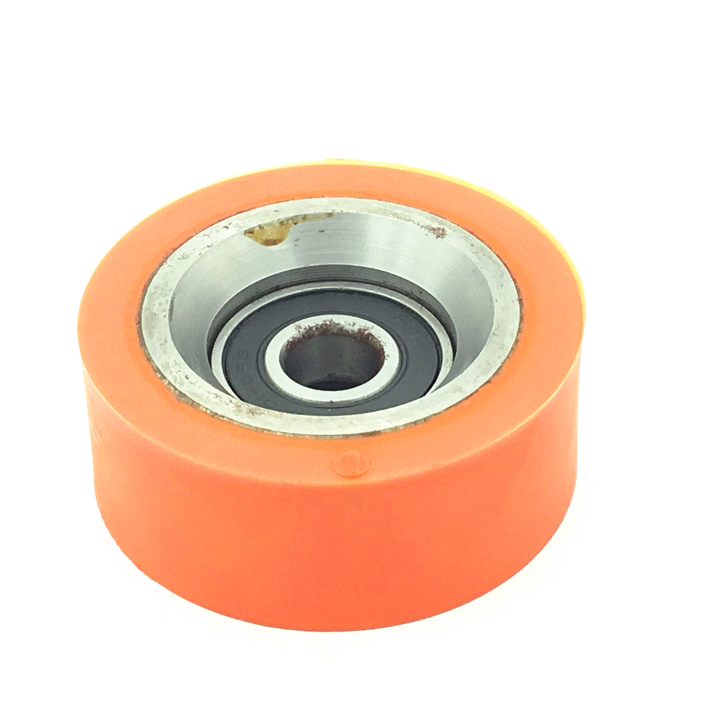 70298701P roller for dryer PU coated 6201 2RS <strong>bearing</strong> 12*64*25.4mm