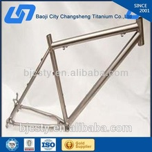 Gr5 material professional manufacturing titanium track bike frame with high quality