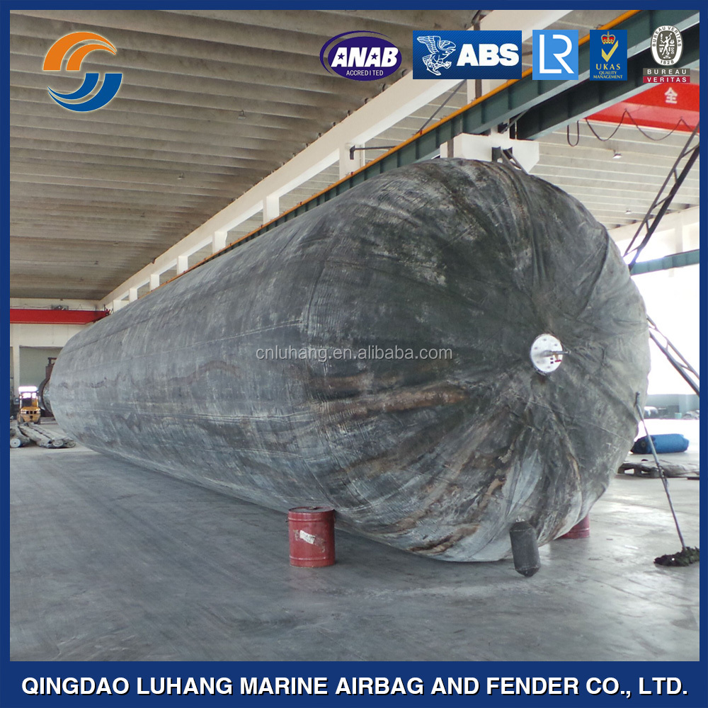 High Quality Natural Rubber Ship Lift Airbag Floating Dock Price