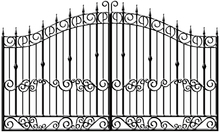 storage lowes iron gates