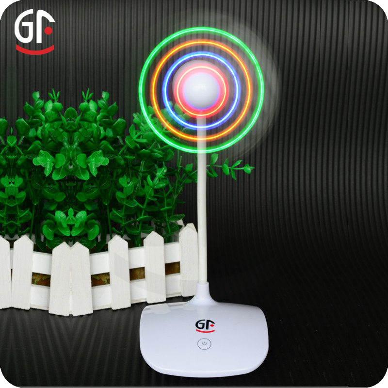 Glow Stick Party Supplies CE RoHS Approved Colorful Usb Fan
