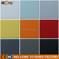 Wholesale solid surface countertop material modified acrylic solid surface resins sheets