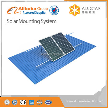 solar panel mounting structure mounting system pv solar tile roof mounting system