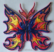 Embroidered Iron On Applique Patch