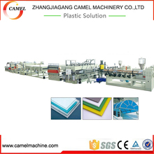 The first choice for pp pe pc hollow grid board production line