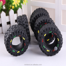BB voice black tires dog chew pet toy