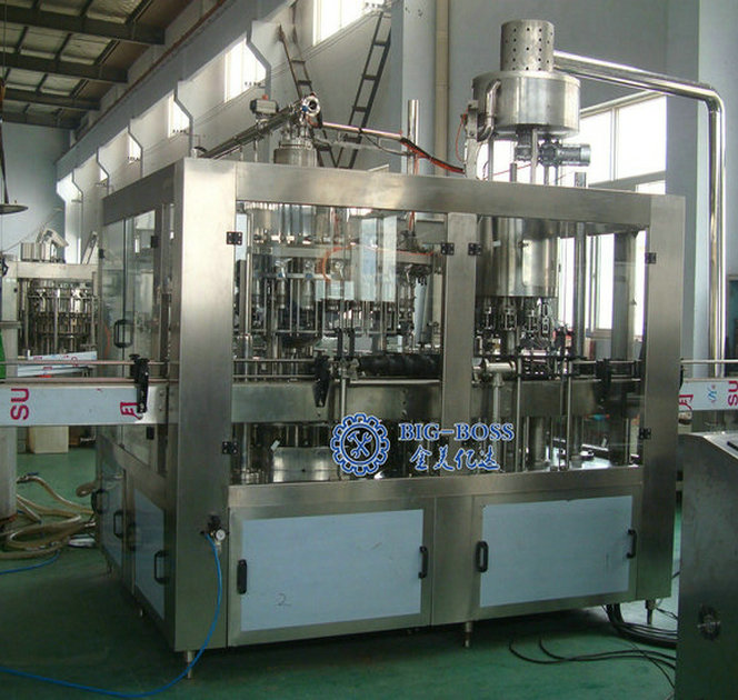 High capacity Champagne /Alcohol Drinks Filling machine /production line , 3 in 1 Unit