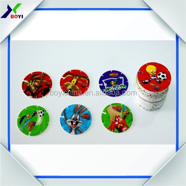 round tazo for candy/chocolate /chips promotional