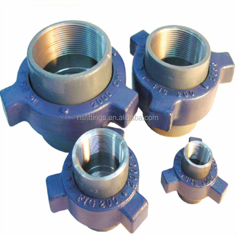 High pressure pipe fittings stainless steel fmc weco fig 1003 hammer union