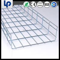 2015 New Open Design Steel Wire Mesh Cable Tray with CE, RoHS, UL