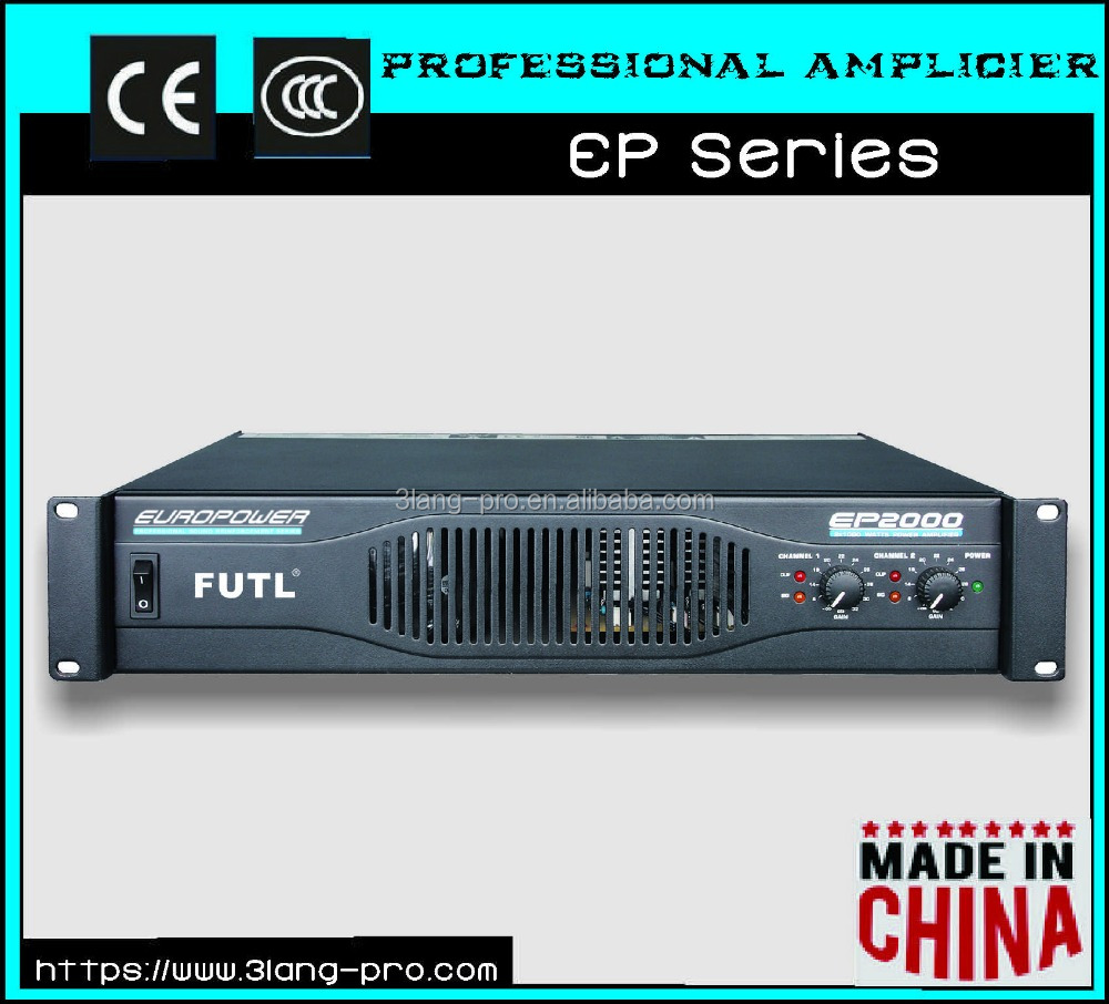 600W 2 Channels Professional Power Amplifier