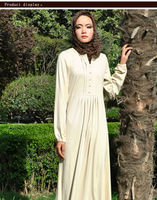 Graceful dubai maxi dress moroccan kaftans for women with long sleeves