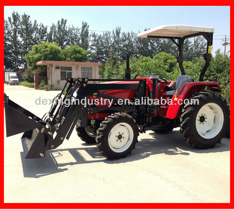 High Quality 40 hp tractor with front end loader