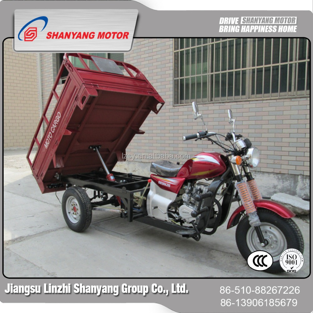 Africa hot selling and High quality 150cc three wheel motorcycle tuk bajaj the front tricycles electric van cargo tricycle