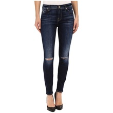 Woman tops and jeans photos hole jeans pent wholesale