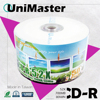 UniMaster Blank White Injekt Printable CD