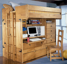 wooden modern children furniture kid bunk beds