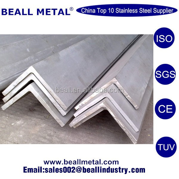 75x75x5mm SUS/AISI/ASTM 304 304L Stainless Steel Angle Bar