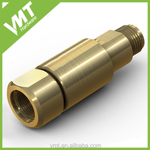 VMT custom design precision pipe metal brass swivel joints for lamp