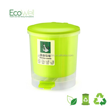 Mini creative fashion commercial garbage bin hot selling with pedal