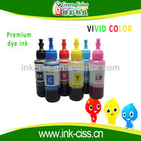 Waterproof dye ink for epson me10 me101 with high quality