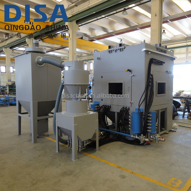 Automatic Rotary/Rotating Table Sand Blasting Machine for Metal