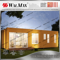 CH-WH008 hot sale china house prefabricated modern prefabricated glass house