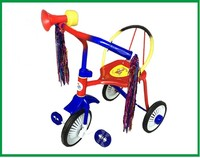 This is old tricycle with good quality baby tricycle is made of iron frame kids tricycle