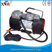 Guangzhou 12V portable electric air pump for cars with working light