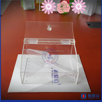 China factory supplier high quality clear acrylic candy bins wholesale