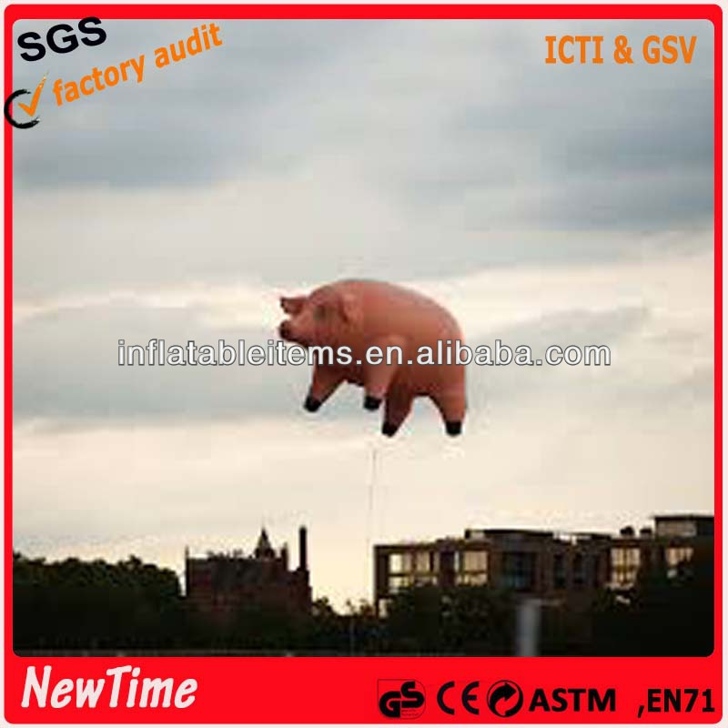 giant flying inflatable pig balloons