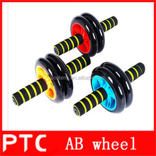 High quality exercise double wheel ab roller