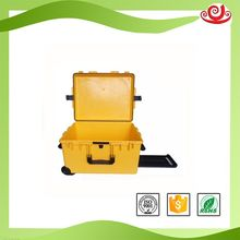 Tricases special customized nice grade IP67 hard PP plastic case aluminum jewelry travel trolley case M2750