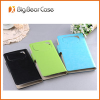 High quality flip leather case for lenovo s890
