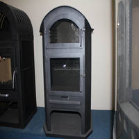 Steel Plate Modern Wood Burning Stove